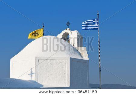 Chapel in a Greek island
