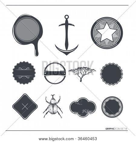 Vintage Vector Labels & Symbols