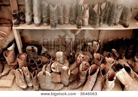 Well Worn Cowboy Boots
