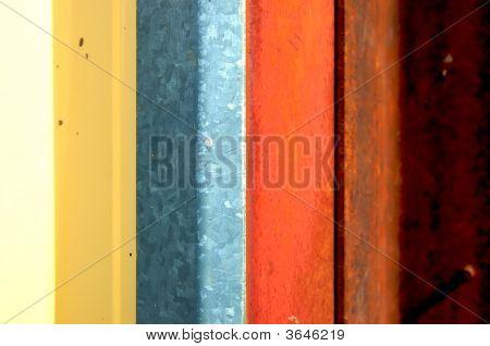 Striped Grunge Abstct Backdrop