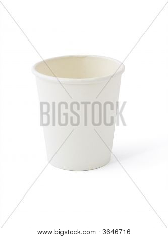 White Paper Cup