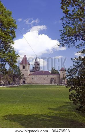 Landscape With Church Of Christian Monastery