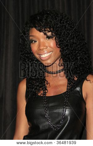 LOS ANGELES - AUG 28: Brandy Norwood at the premiere of GoDigital's 'You, Me & The Circus' at SupperClub in Hollywood on August 28, 2012 in Los Angeles, California
