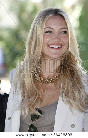 VENICE - AUG 28: Kate Hudson at the 69th International Venice Film Festival for 'The Reluctant Fundamentalist' on August 28, 2012 in Venice, Italy