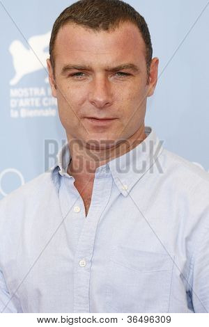 VENICE - AUG 28: Liev Schreiber at the 69th International Venice Film Festival for 'The Reluctant Fundamentalist' on August 28, 2012 in Venice, Italy