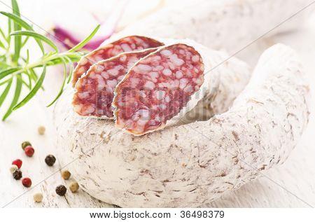 mold salami
