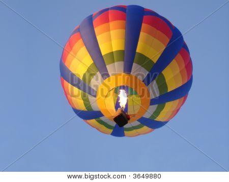 Hot Air Balloon From Below