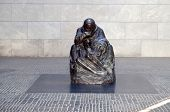 stock photo of tyranny  - Mother and her dead son monument in Berlin - JPG