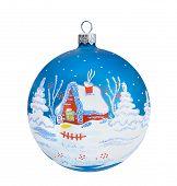 Christmas Blue Ball