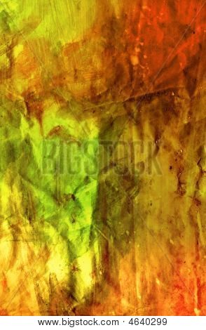 Vivid Painted Texture