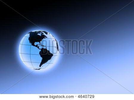 Blue Earth Orb