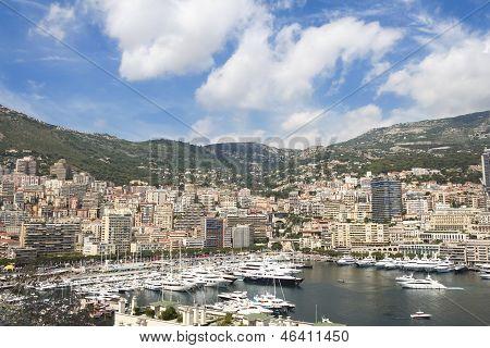 Cidade de Monte Carlo Mônaco de propriedade.