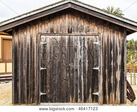 Rustic Wooden Barn