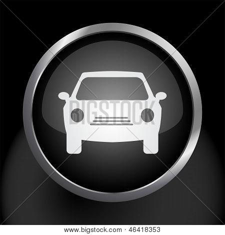 Car Icon Vector Symbol