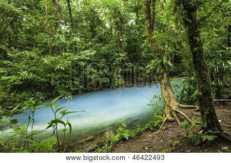 Rio Celeste Waters