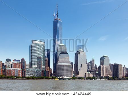 Nyc Freedom Tower And The World Financial Center