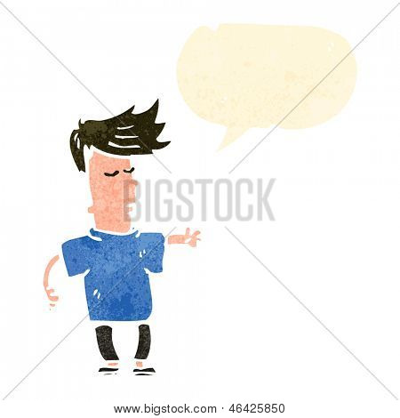 cool kid cartoon character