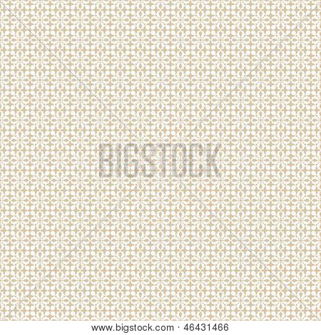 l background of seamless dots and floral  pattern