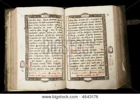 Old Book (end Of 17Th Century)