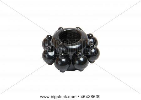 Black Ring For Penis Erection