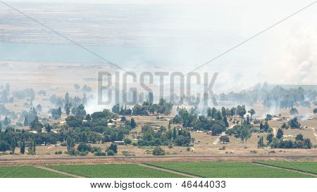 Heavy Combat In Syrian City Al Qunaytirah On Golan Heights