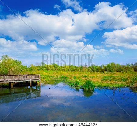 White Lake bei Cullinan Park in Sugarland in der Nähe von Houston Texas