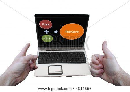 Laptop Expression Risk Ratio Reward