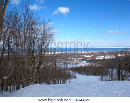 View Of Georgian Bay  From Blue Mountain
