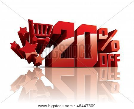 Sale 20 percents