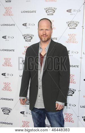 LOS ANGELES - JUN 5: Joss Whedon at the screening of Lionsgate and Roadside Attractions' 'Much Ado About Nothing' on June 5, 2013 in Los Angeles, California