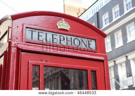 London's telephone box