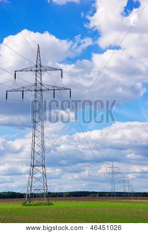 Power Poles And Transmission Lines