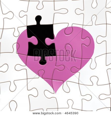 Missing A Piece Of The Heart