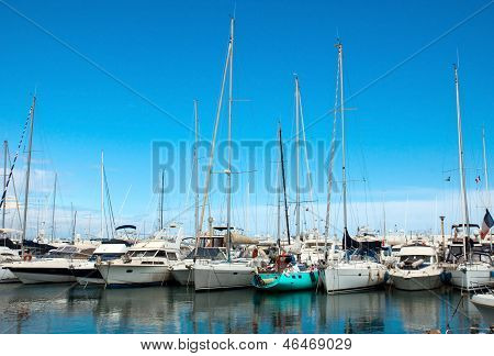 Antibes - Sail Boats