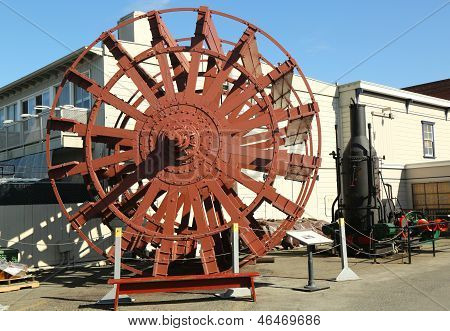 The Petaluma sternwheel in San Francisco Maritime National Historical  Park