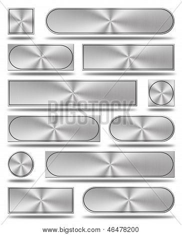 The Aluminum Buttons