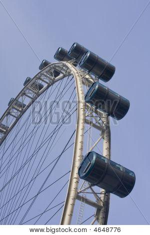 Singapore Flyer, Ferries Wheel