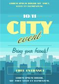 image of life events  - City event poster - JPG