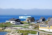 Nuuk Harbor in Summer