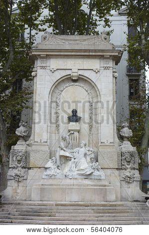 Antoine Gailleton monument in Lyon, France