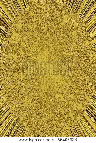 Golden Ellipse On Rays