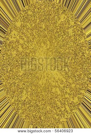 Golden Ellipse On Rays