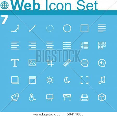 Common web icons