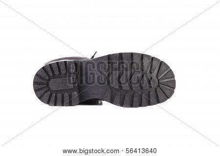 Rubber soles.