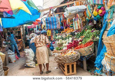 In Honduras at market