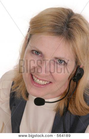 Kunden-Service-Betreiber 7115