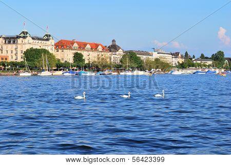 Switzerland.  Zurich Lake