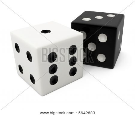 Fake Winning White Bone For Dice Game