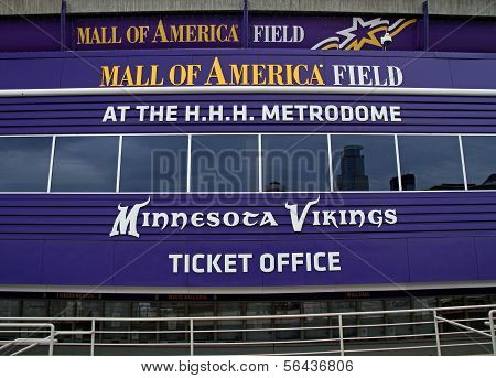 Mall Of America Field Entrance