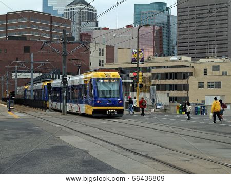 Minneapolis Metro Train